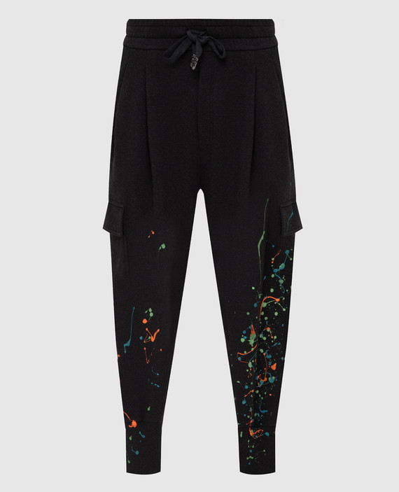 Темно-серые спортивные брюки