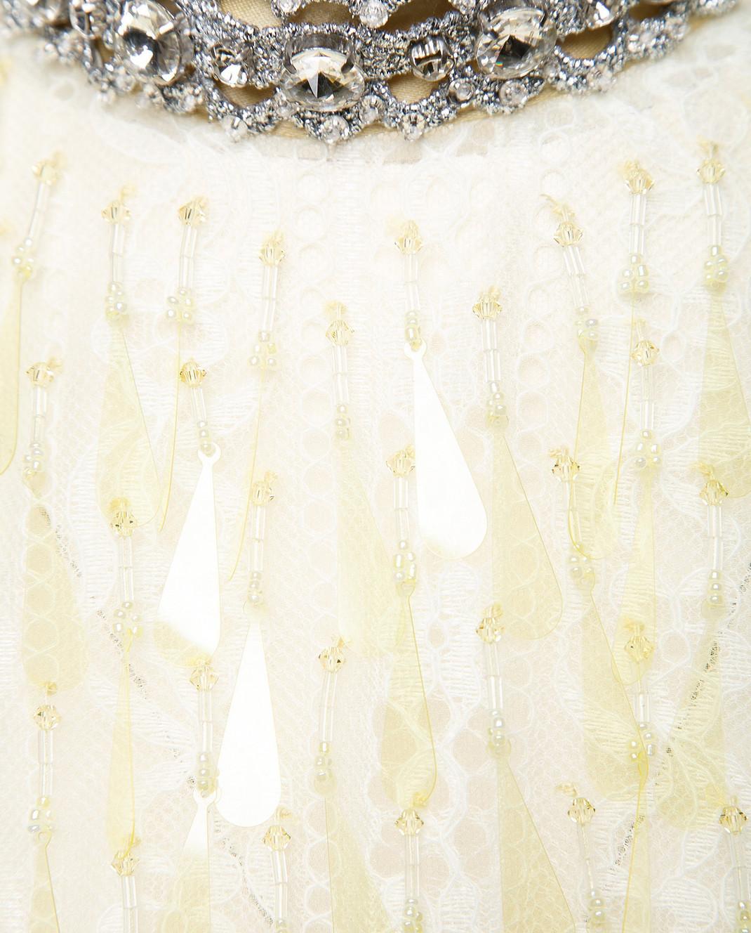 Marc Jacobs Желтое платье с кружевом M4007191 изображение 4