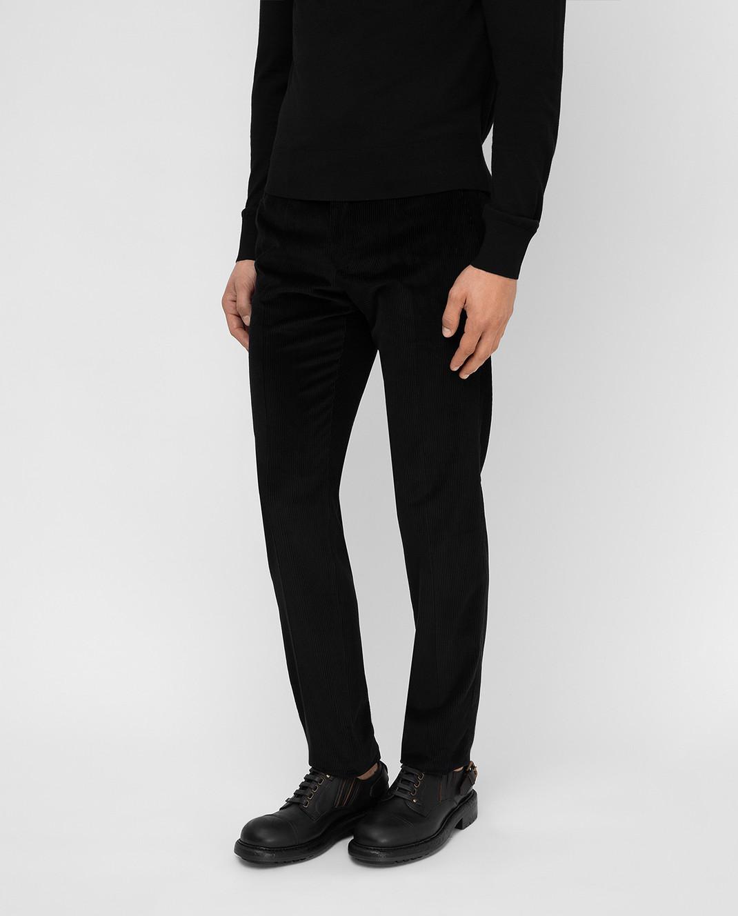 Dolce&Gabbana Черные брюки изображение 3