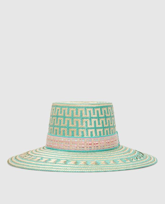 """Соломенная шляпа """"Nina"""""""