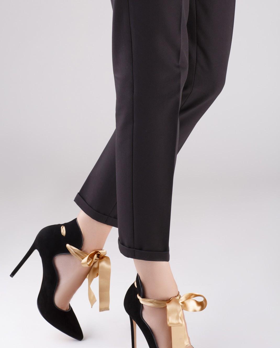 Cerasella Черные замшевые туфли MELISSA MELISSA изображение 2