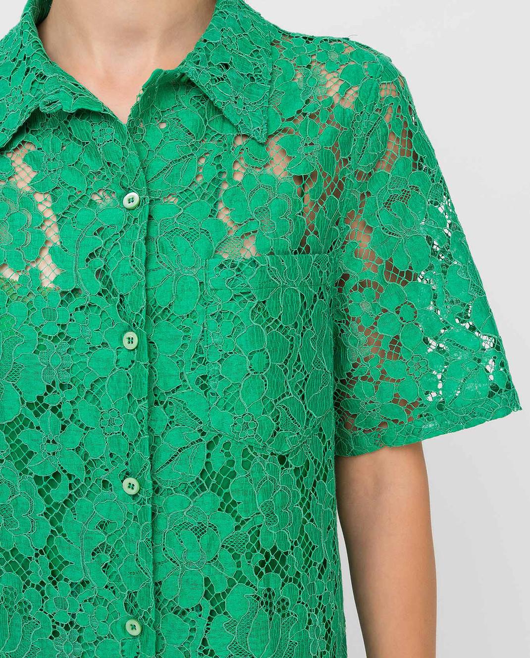 Prada Зеленая рубашка изображение 5