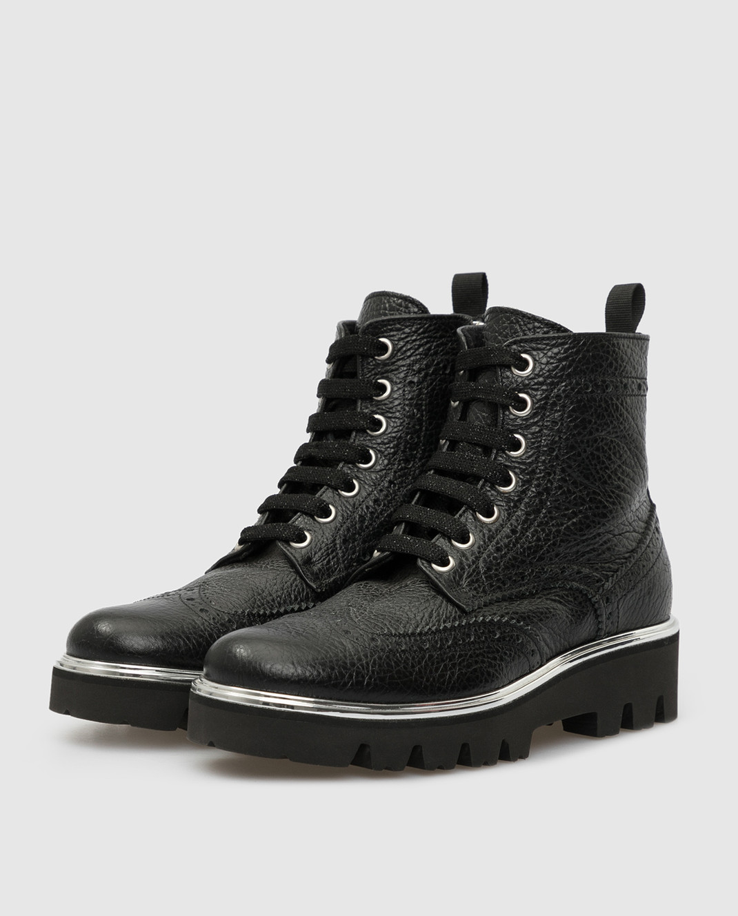 Zecchino D'oro Детские черный ботинки R0868013032 изображение 2