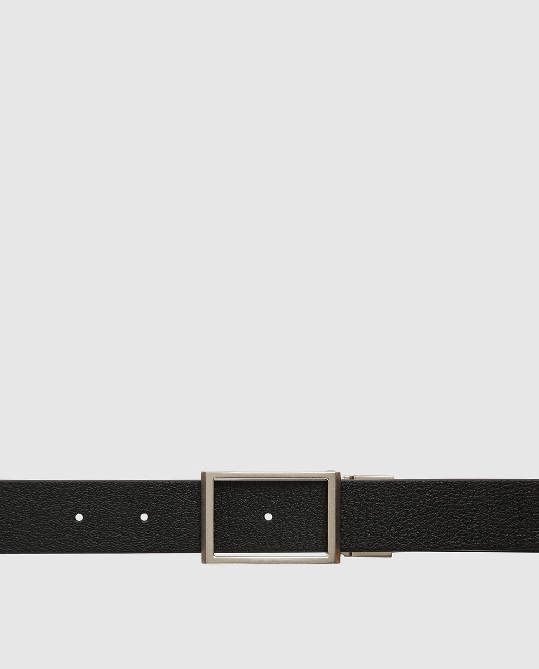 Bottega Veneta Двухсторонний кожаный ремень изображение 5