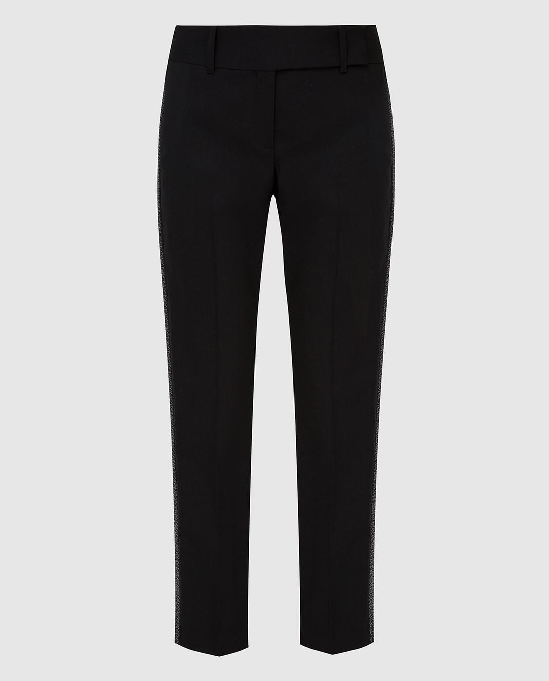 Ermanno Scervino Черные брюки из шерсти изображение 1