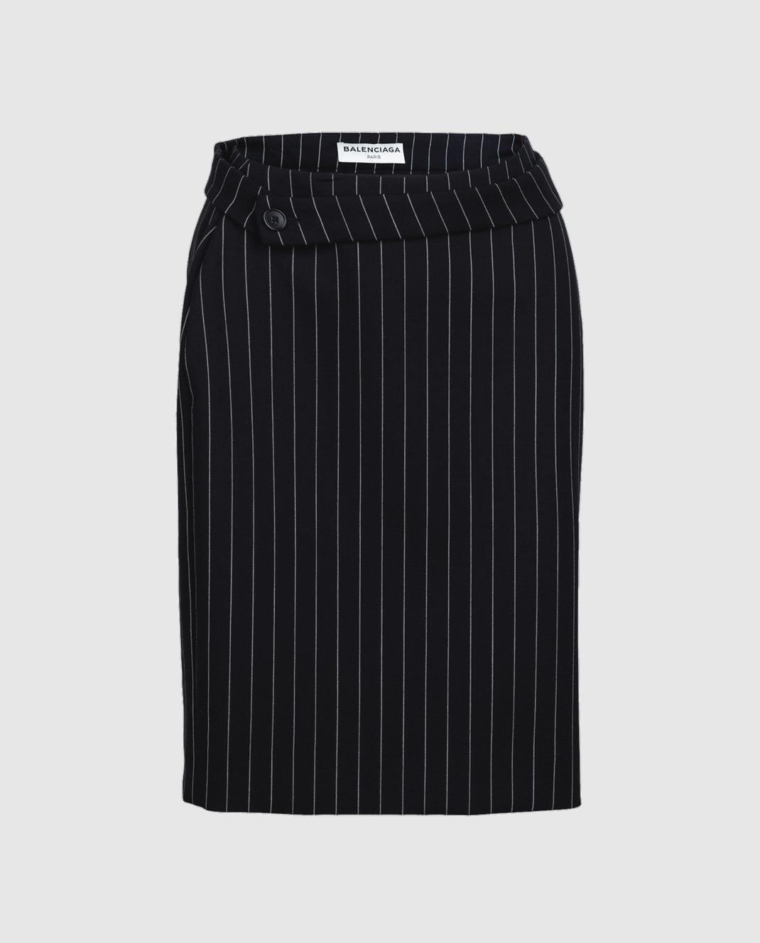 Balenciaga Черная юбка изображение 1
