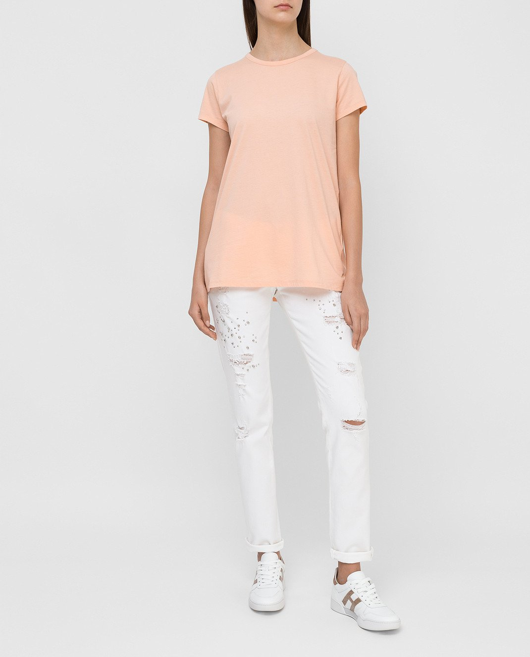 Blugirl Белые джинсы 1502 изображение 2