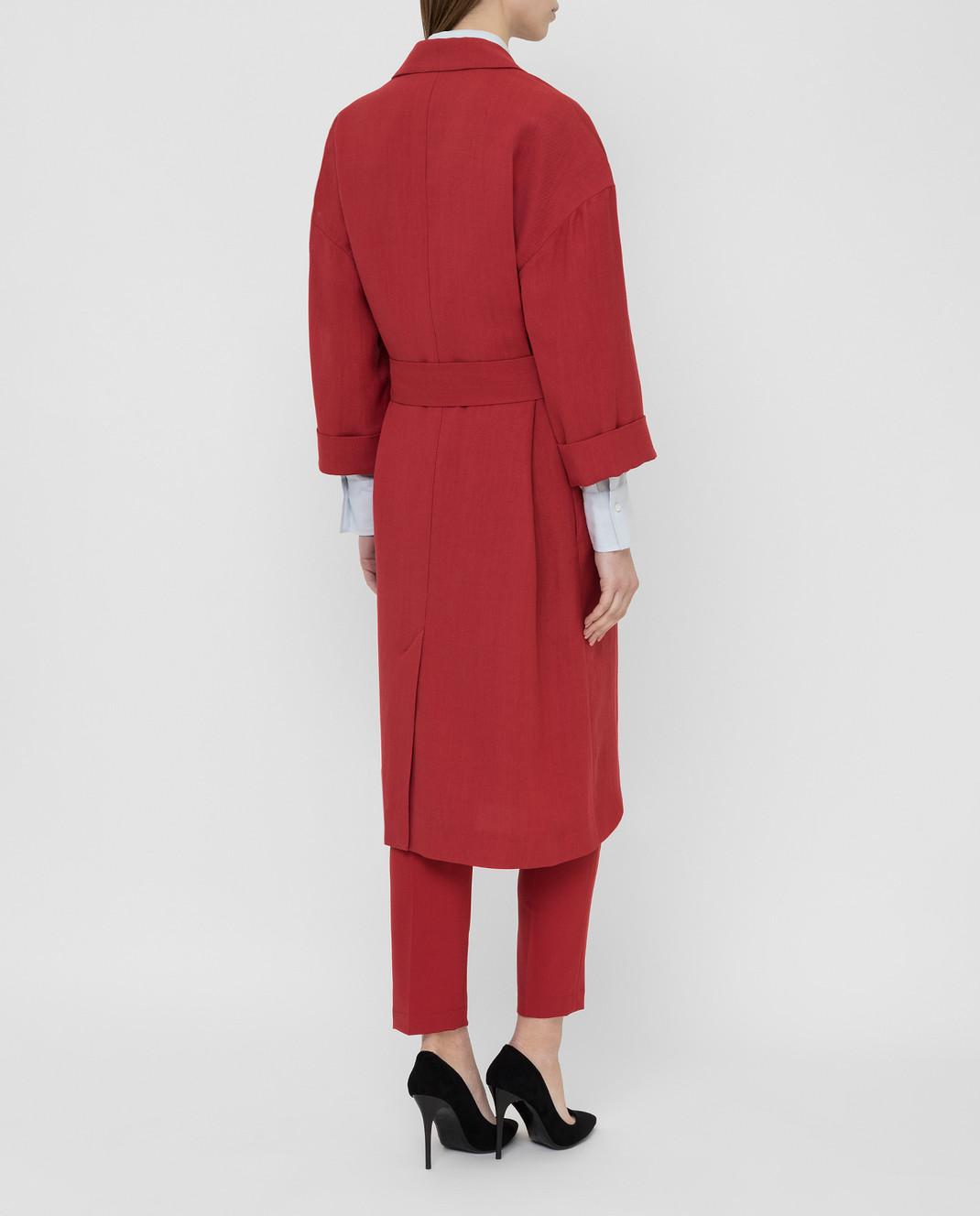 Brunello Cucinelli Красное пальто MH1269398 изображение 4