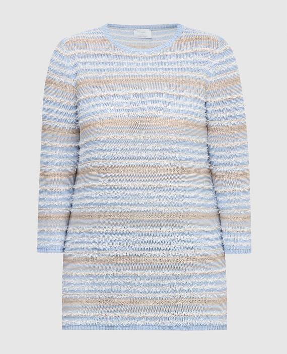 Голубой свитер