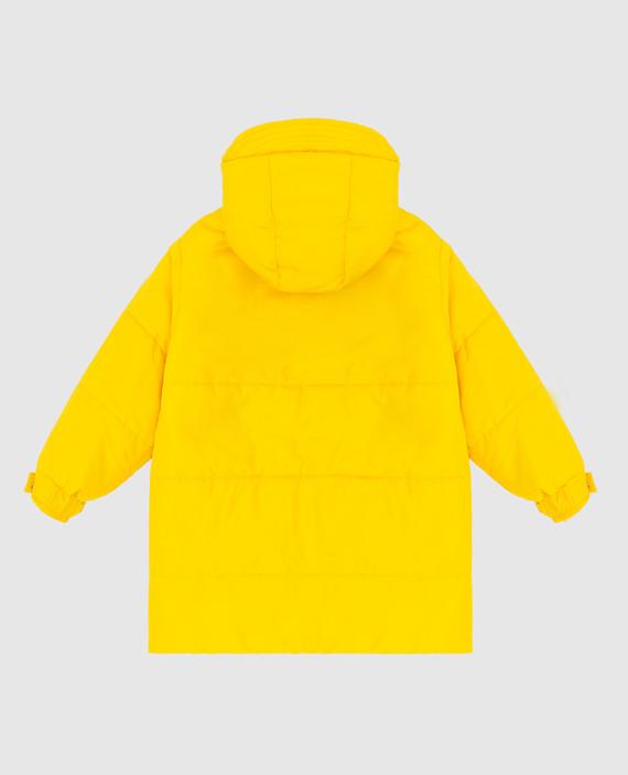 Детская желтая куртка hover