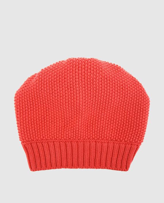Детская коралловая шапка