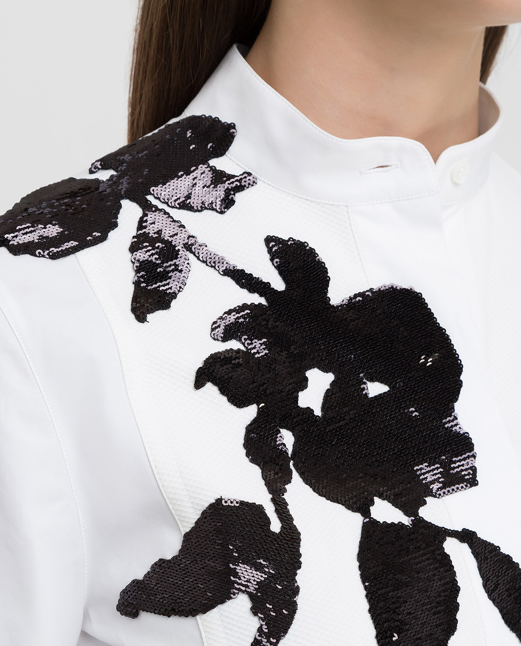 Valentino Белая рубашка изображение 5