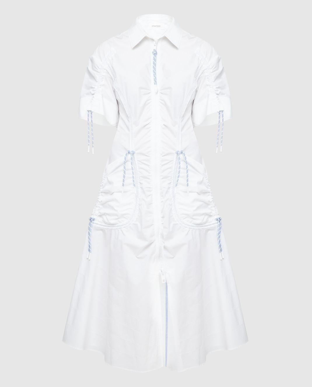 Max Mara Sportmax Белое платье  ELMI