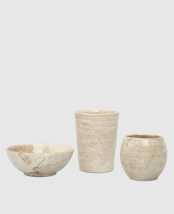 Столовый набор из керамики