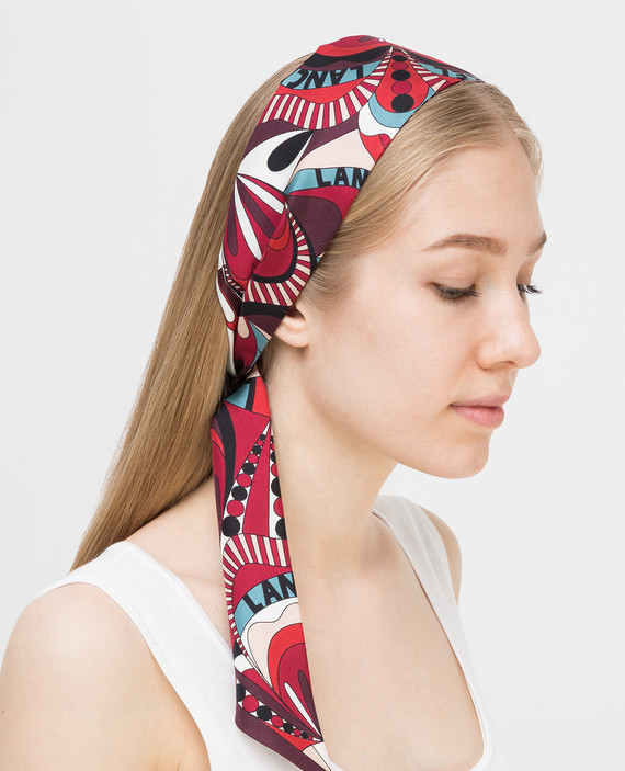 Лента для волос из шелка hover