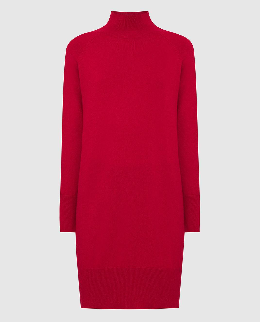 Allude Красное платье из кашемира изображение 1