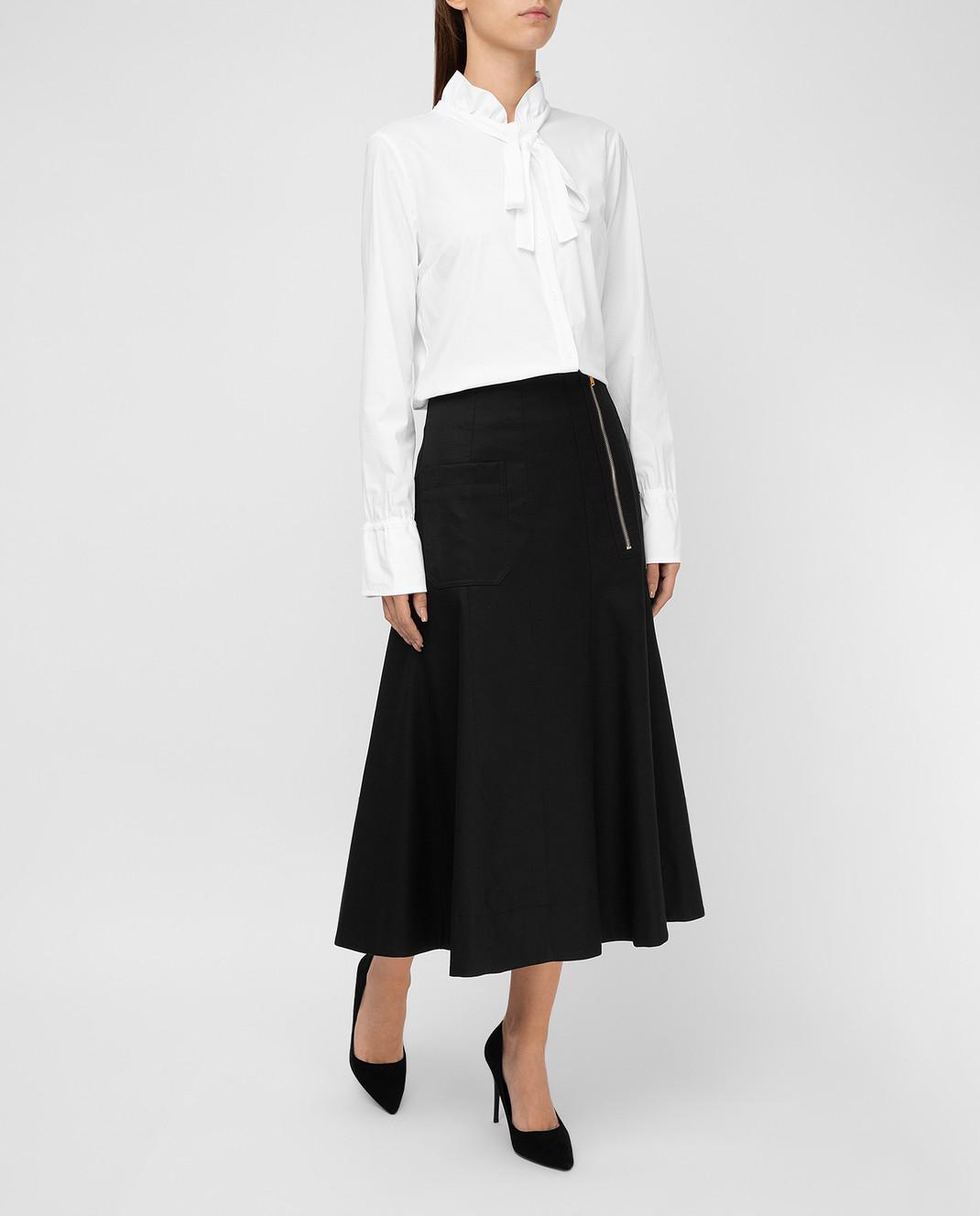 Balenciaga Черная юбка 426418 изображение 2