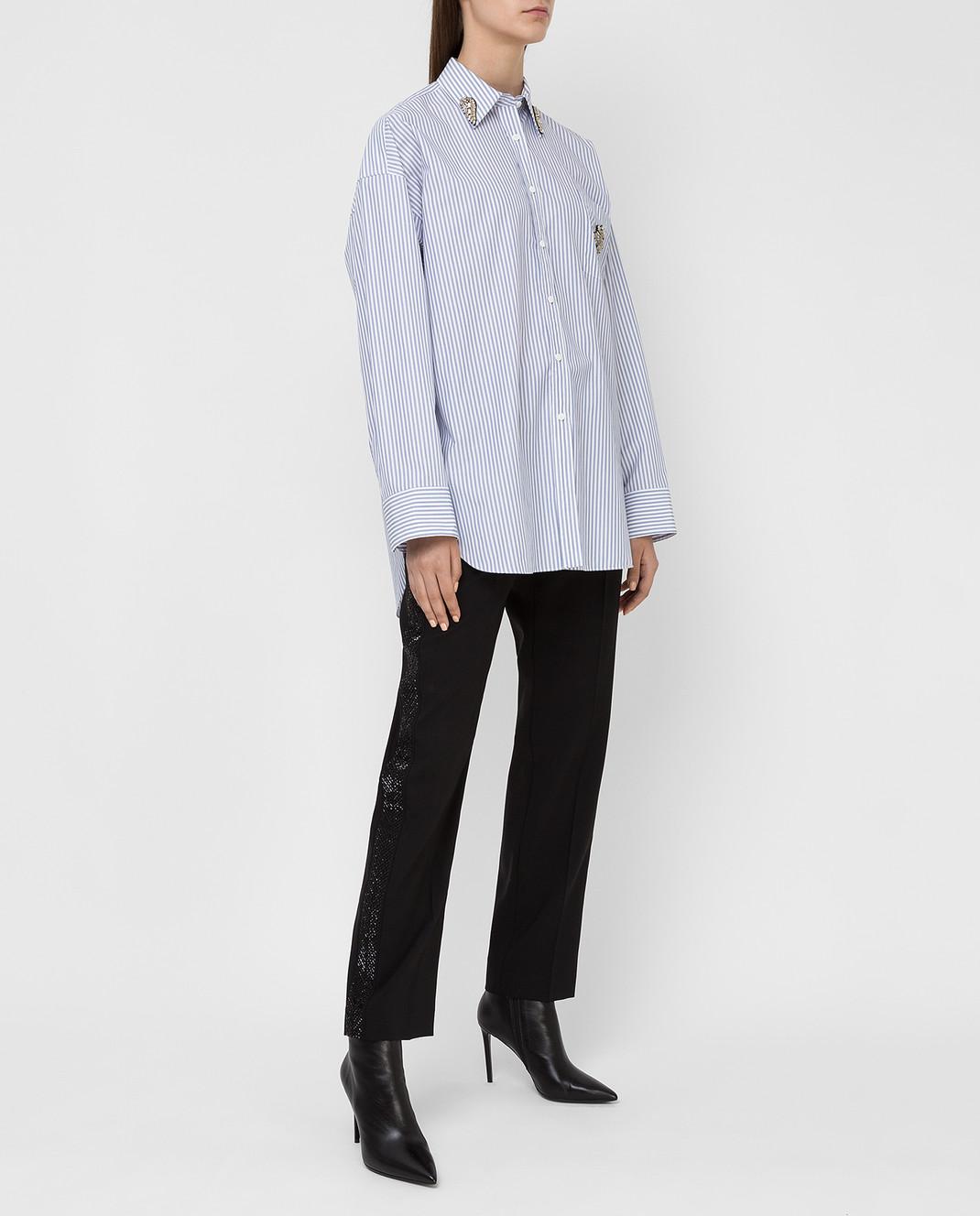 Ermanno Scervino Черные брюки из шерсти изображение 2