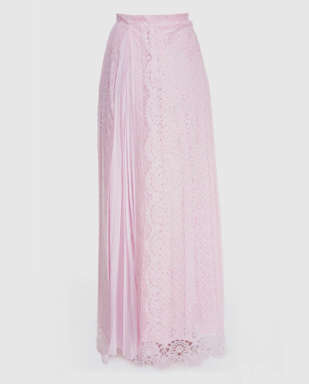 Ermanno Scervino Розовая юбка D312O707FDHUM