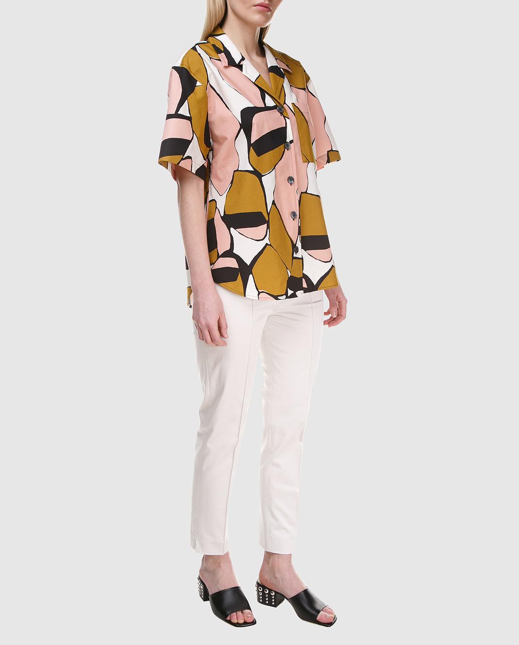 Marc Jacobs Белые брюки M4007166 изображение 2