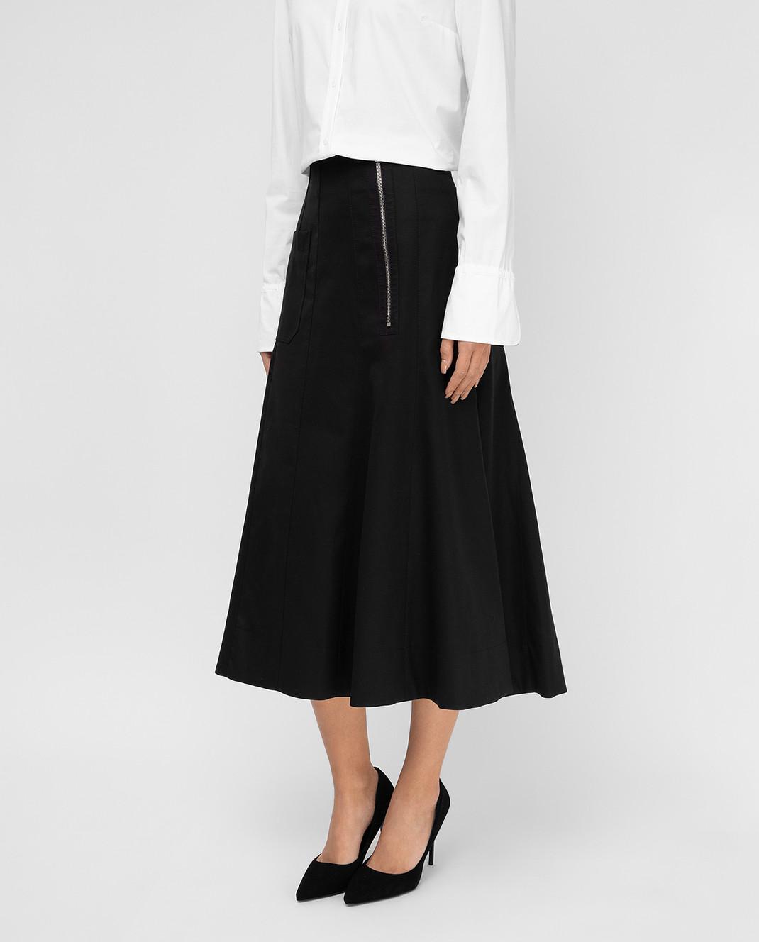 Balenciaga Черная юбка 426418 изображение 3