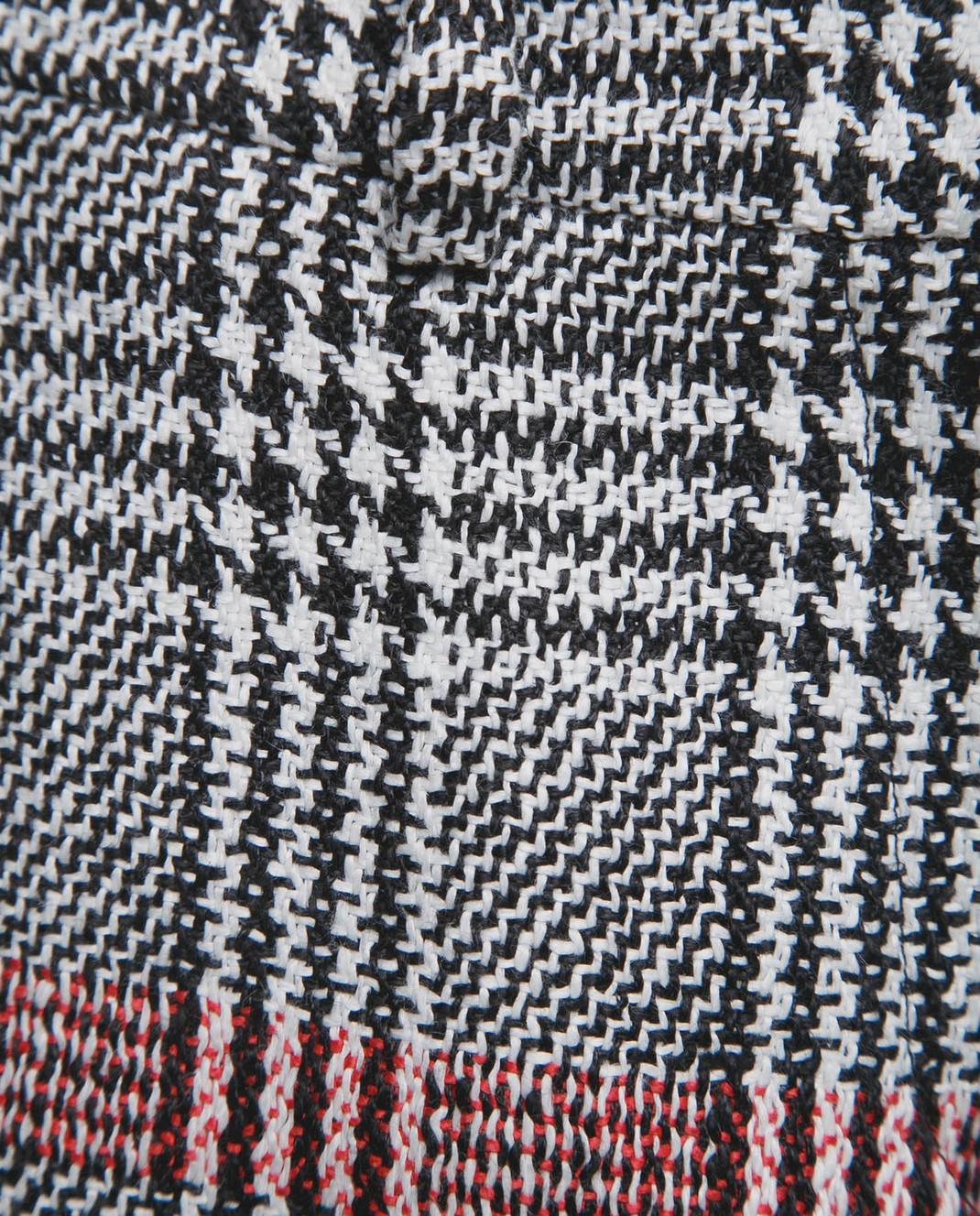 Ermanno Scervino Серые шорты из льна изображение 5