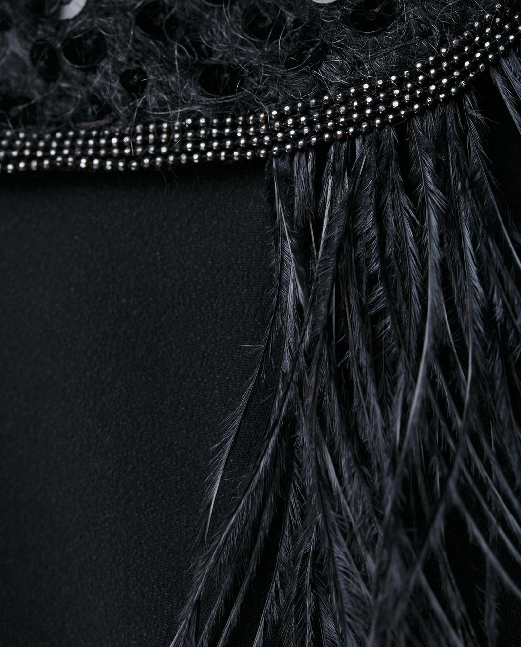 Brunello Cucinelli Черное платье MA970AE661 изображение 5