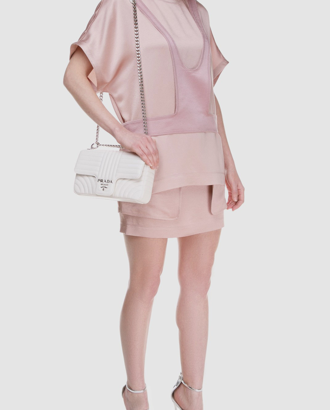 Valentino Розовая юбка PB0RA3K53H3 изображение 2