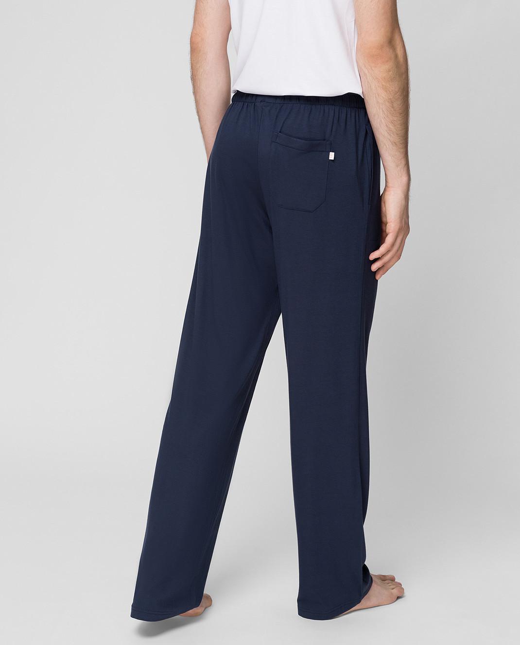 Derek Rose Темно-синие брюки 3558BASE001 изображение 4