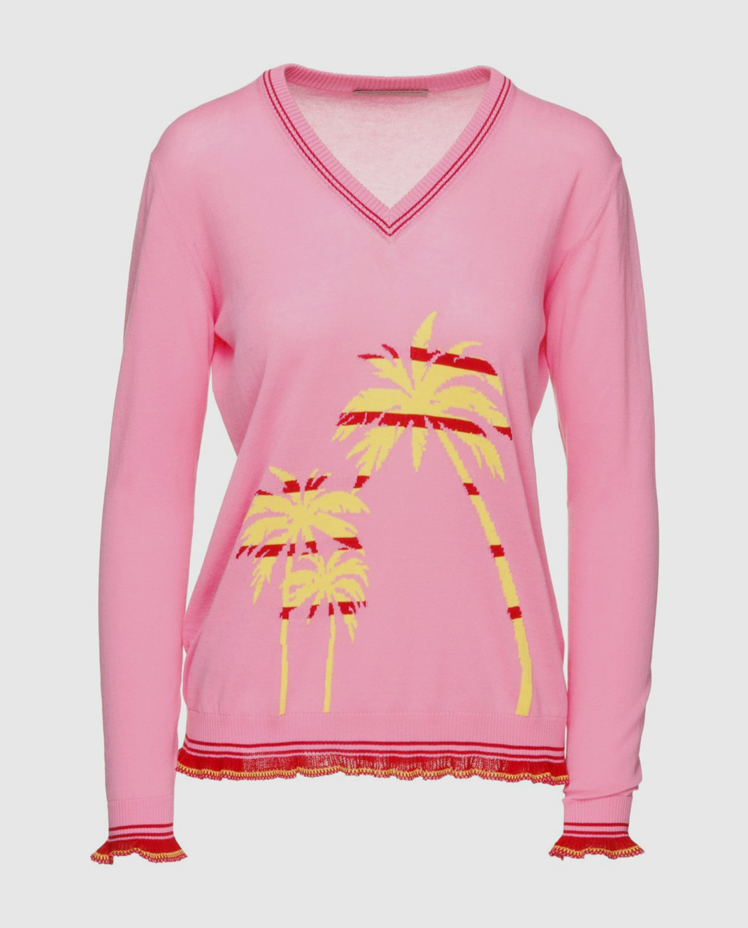 Ermanno Scervino Розовый пуловер изображение 1