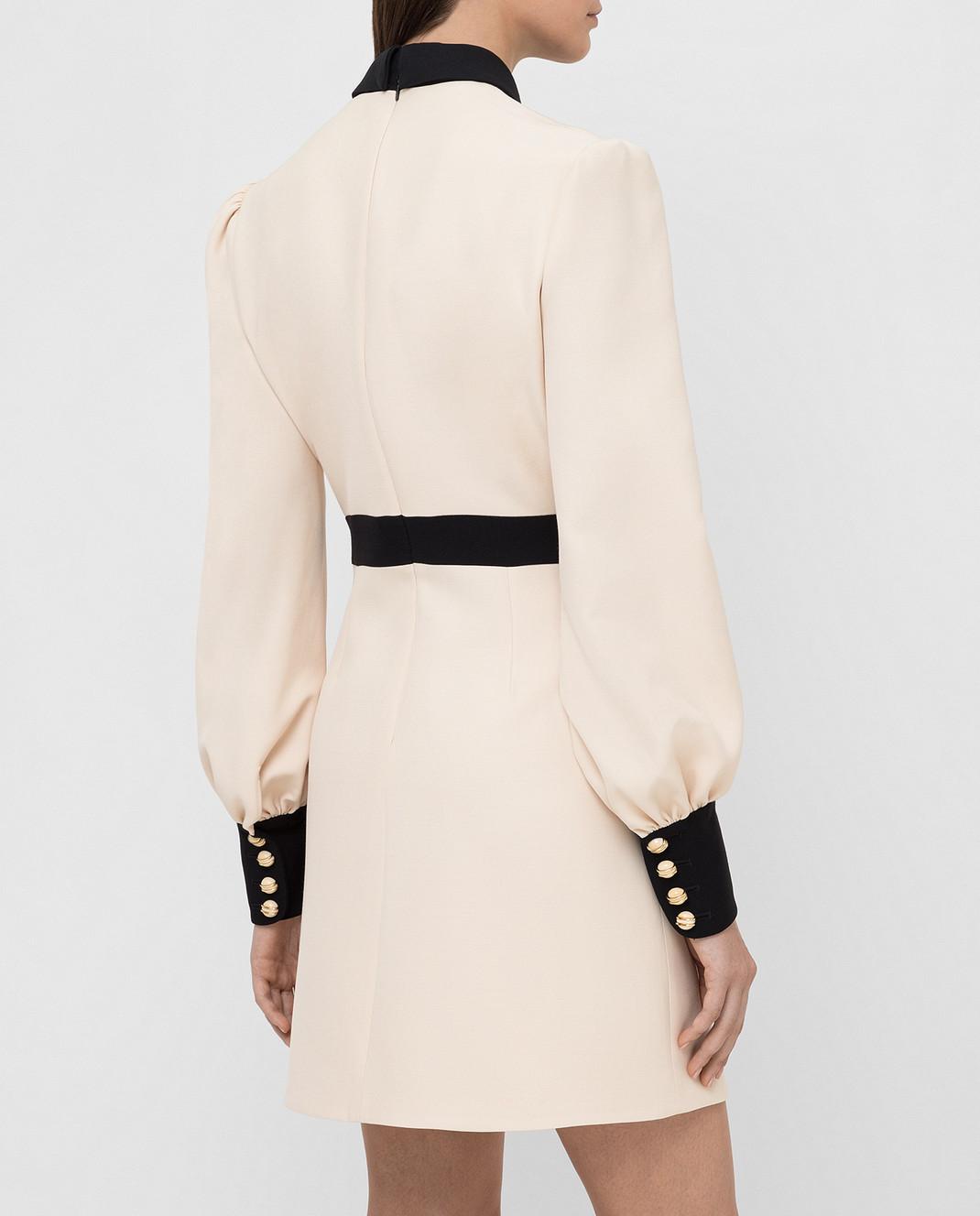 Gucci Светло-бежевое платье 595257 изображение 4