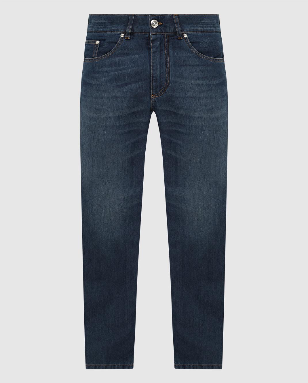 Ferutdin Zakirov Темно-синие джинсы FZA4900JN4000
