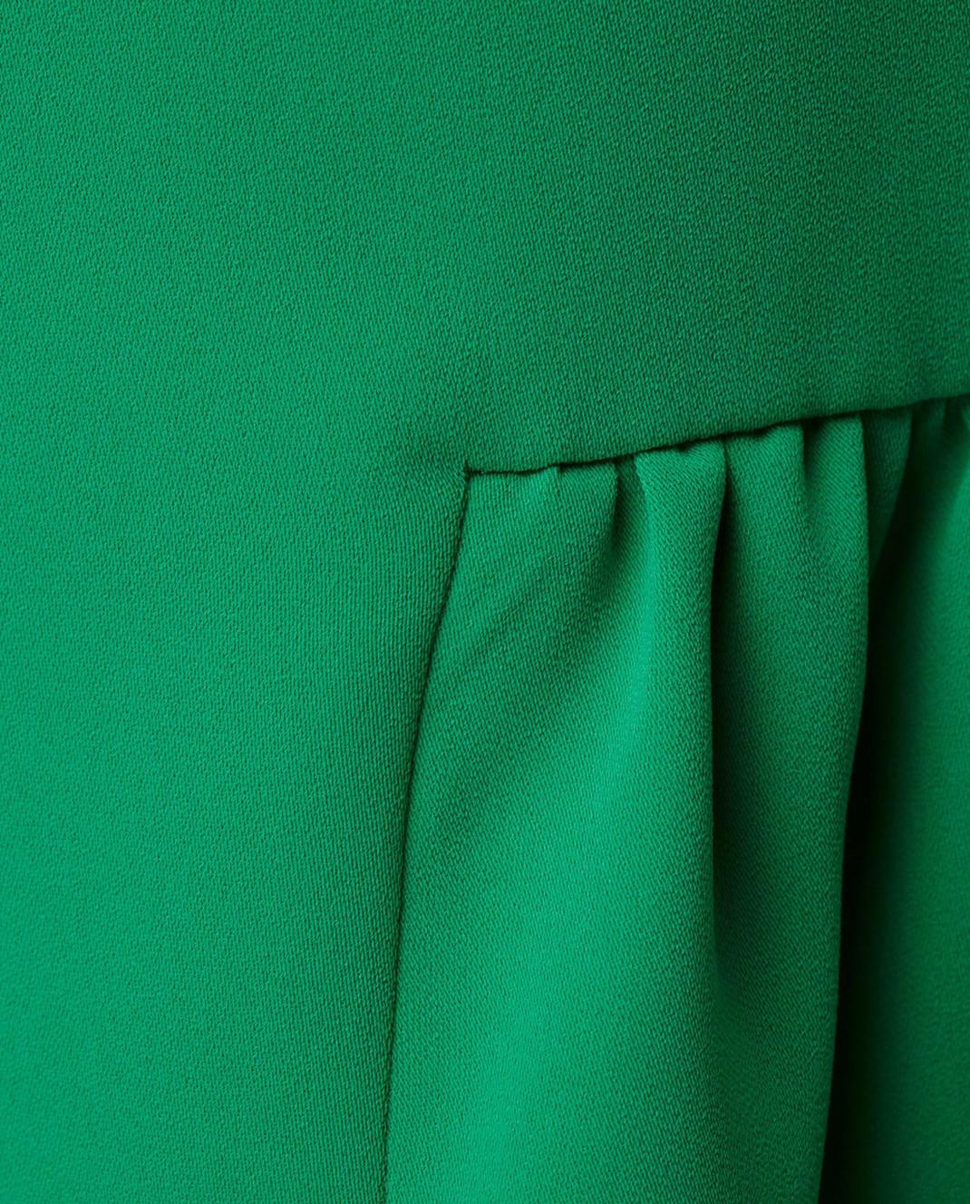 PAROSH Зеленая блуза D310311 изображение 5