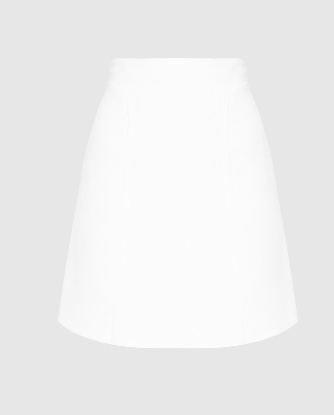 Azzedine Alaia Белая юбка 6E9J174CM220