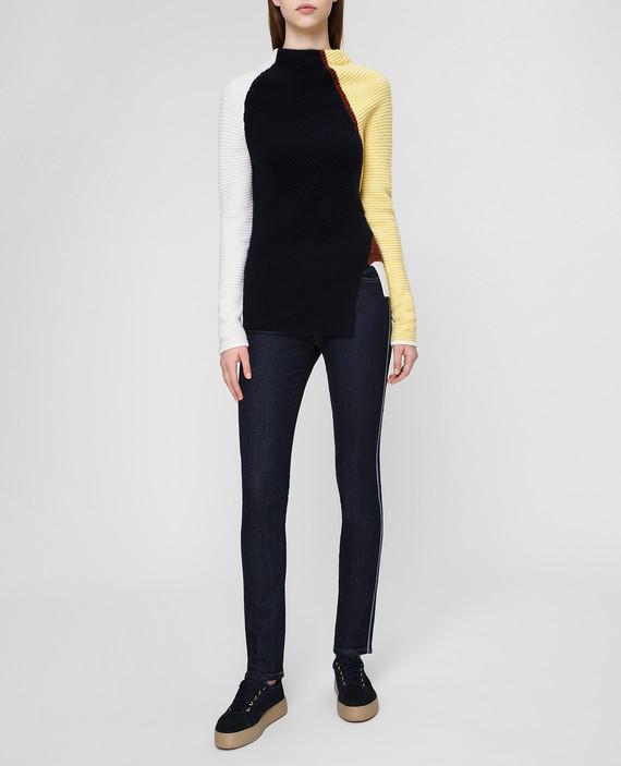 Темно-синий свитер из кашемира hover