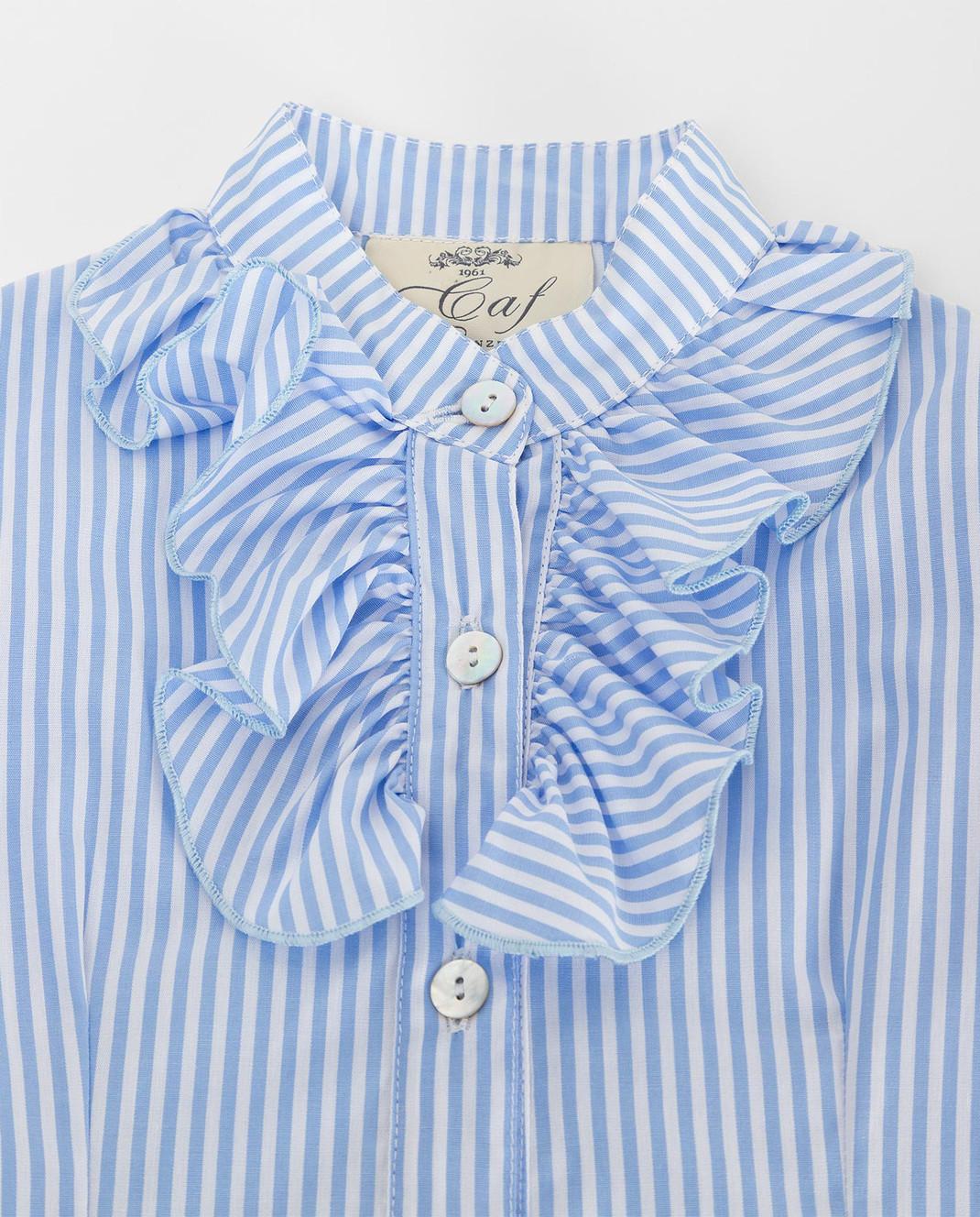 CAF Детская голубая рубашка 72RI24 изображение 3