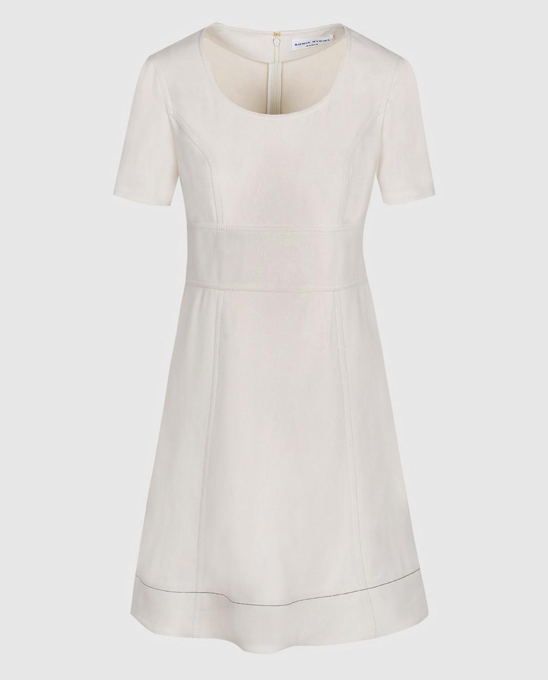 Sonia Rykiel Светло-бежевое платье 17202425