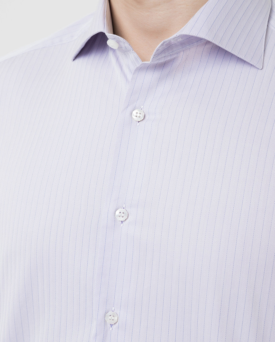 Stefano Ricci Сиреневая рубашка MC000540L1812 изображение 5
