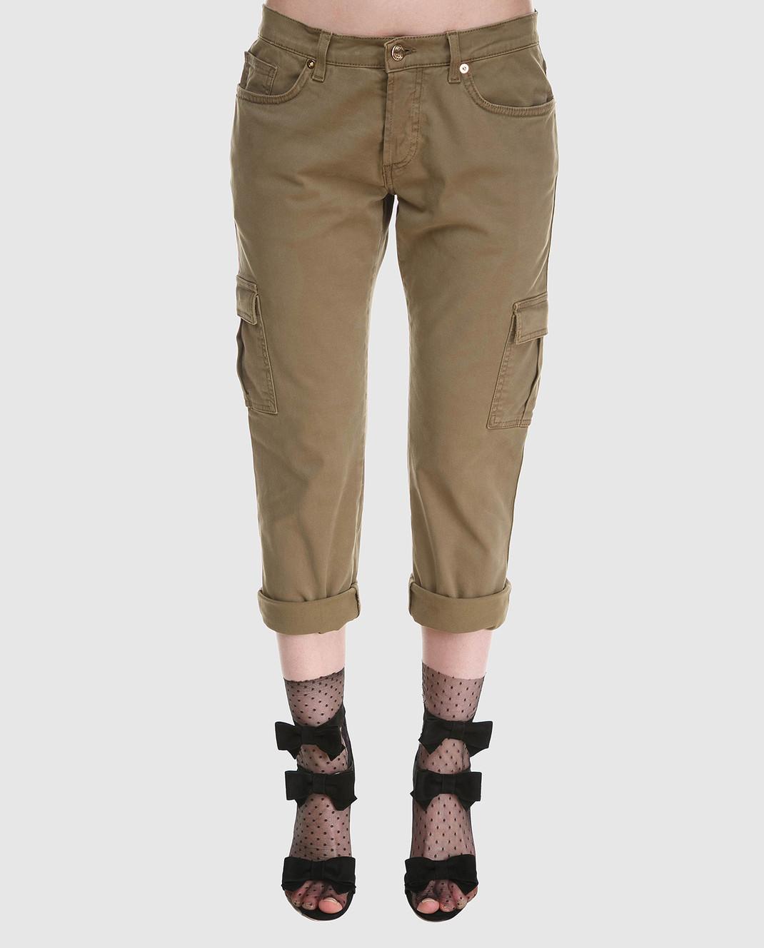 Redemption Зеленые брюки 1810RP08TC29 изображение 3