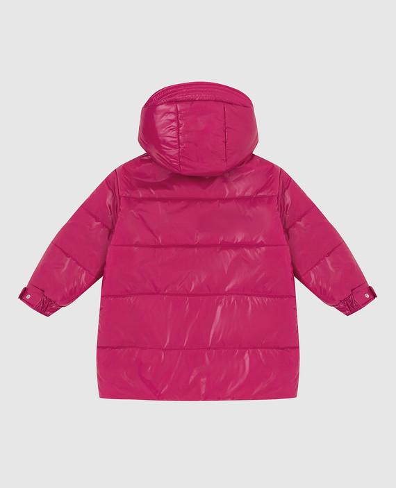 Детская розовая куртка hover