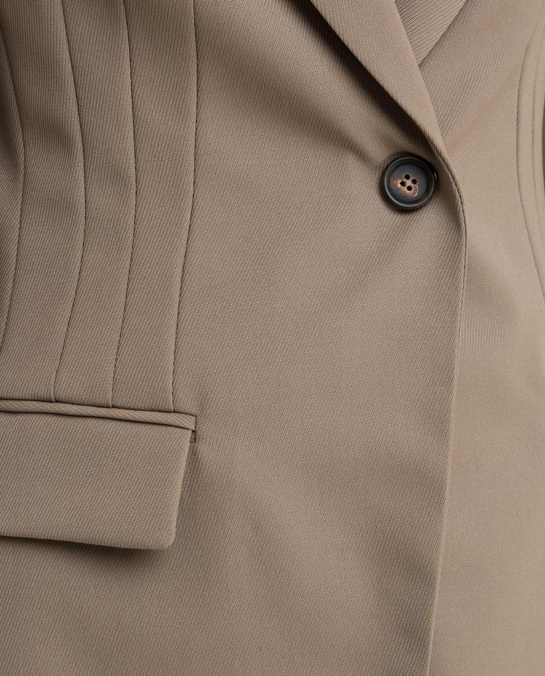Brunello Cucinelli Бежевый костюм из шерсти изображение 5