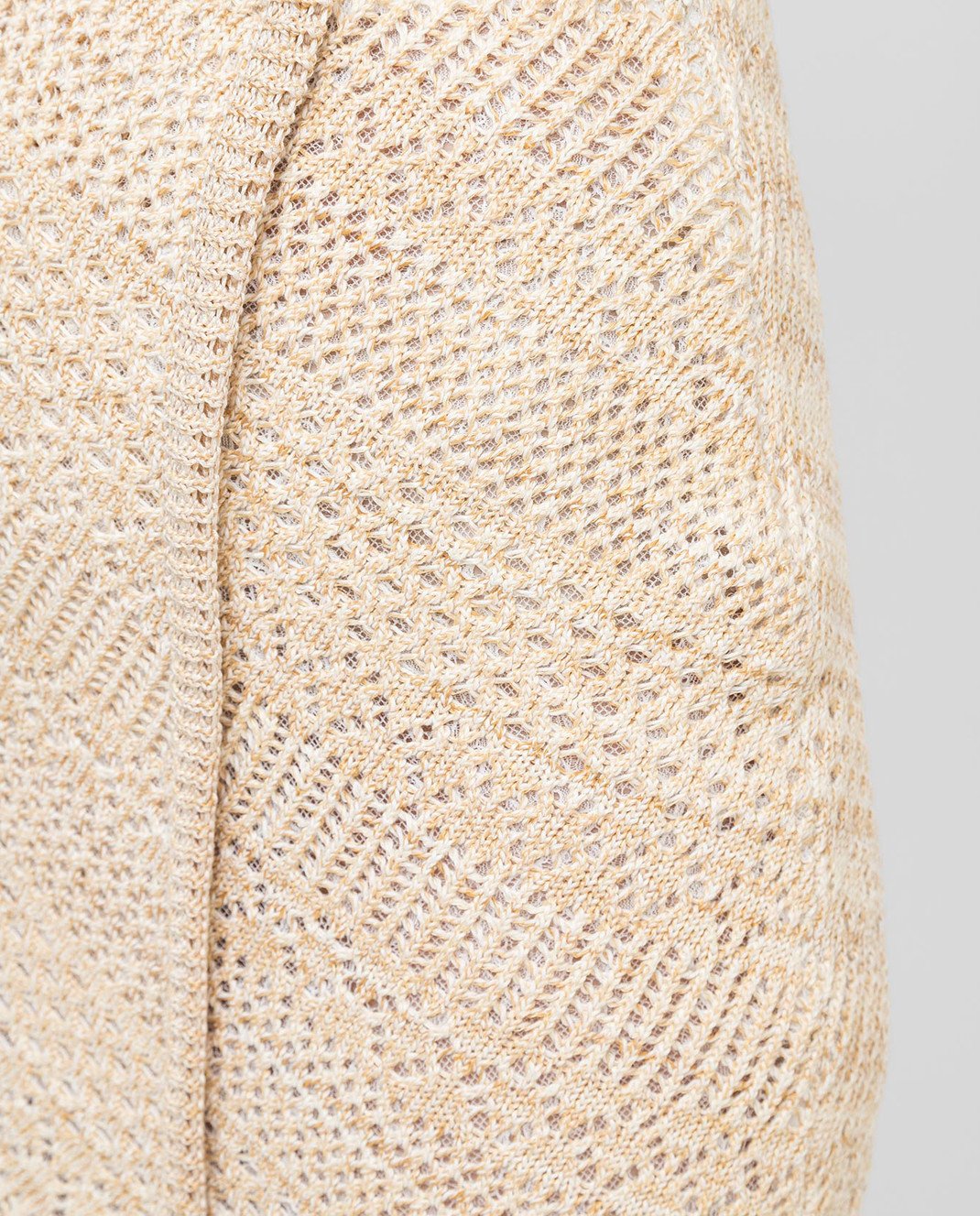Ermanno Scervino Бежевая юбка D285O308PNT изображение 5