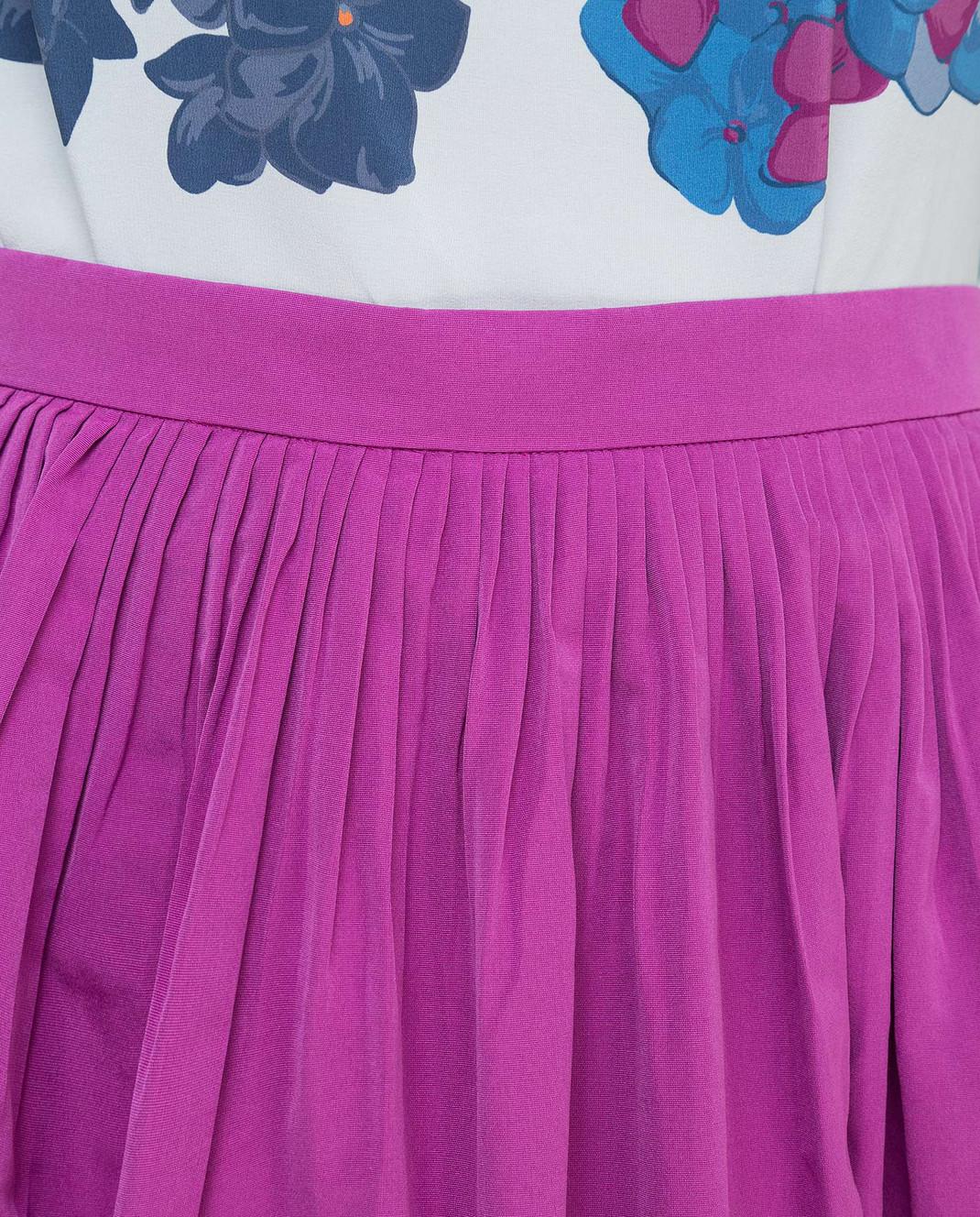 Valentino Сиреневая юбка изображение 5