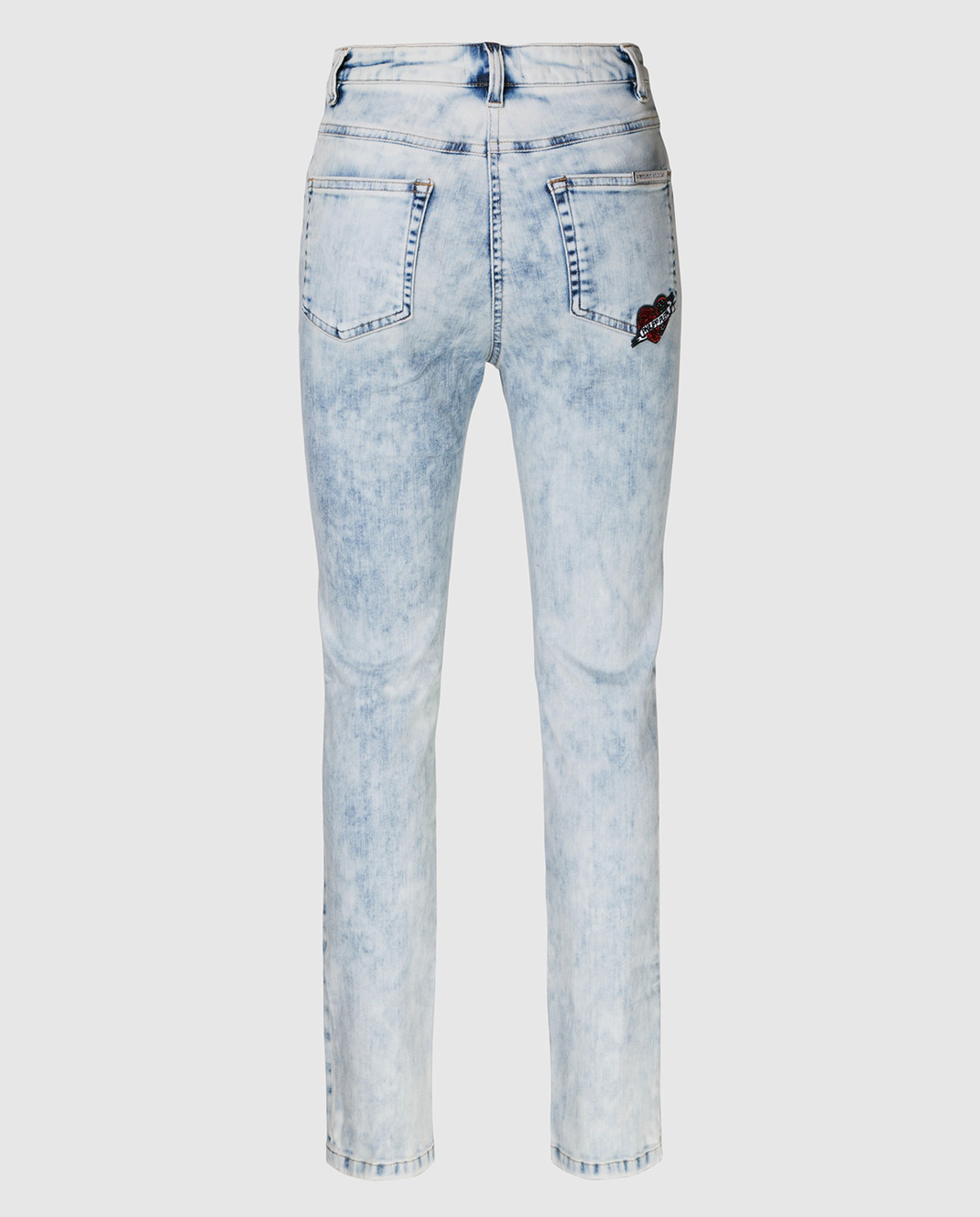 Philipp Plein Голубые джинсы WDT0368 изображение 2