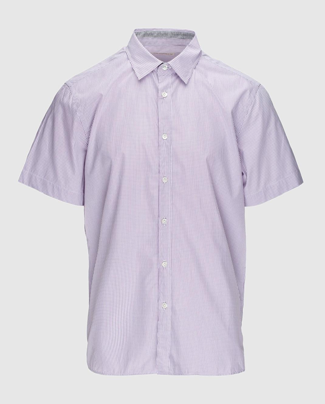 Luciano Barbera Сиреневая рубашка R10559071230