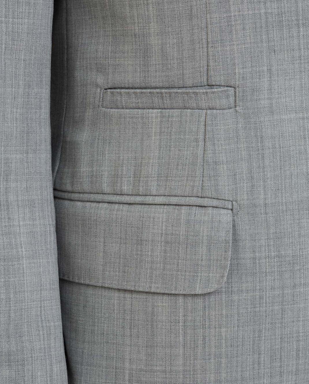 Brunello Cucinelli Серый костюм из шерсти MD4107BT7 изображение 5