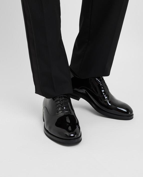 Черные кожаные оксфорды hover