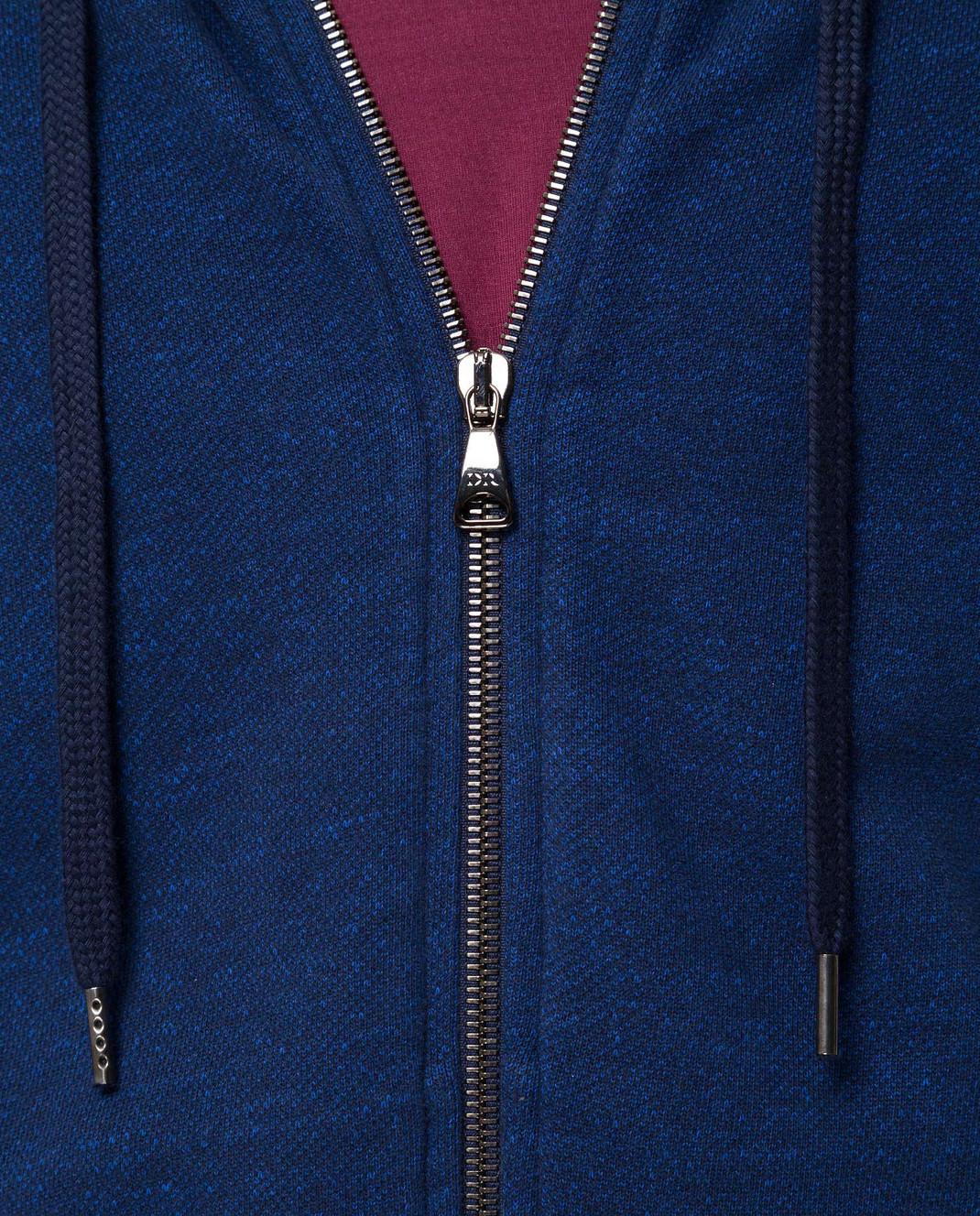Derek Rose Синяя спортивная кофта 9050DEVO001 изображение 5