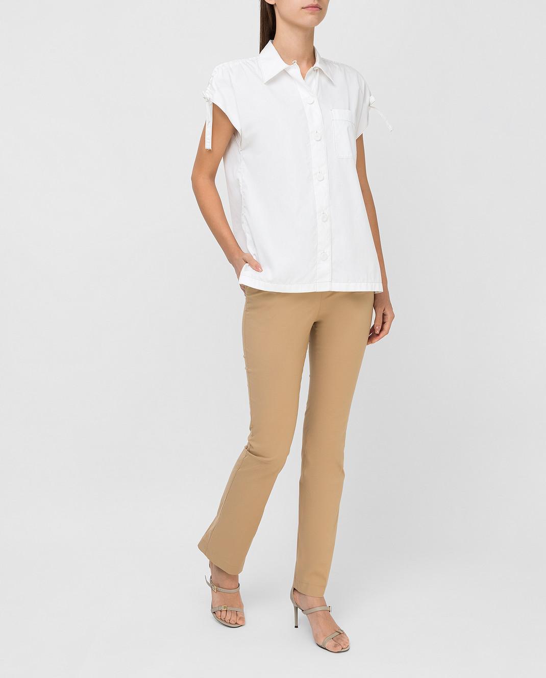 Prada Белая рубашка P469A изображение 2