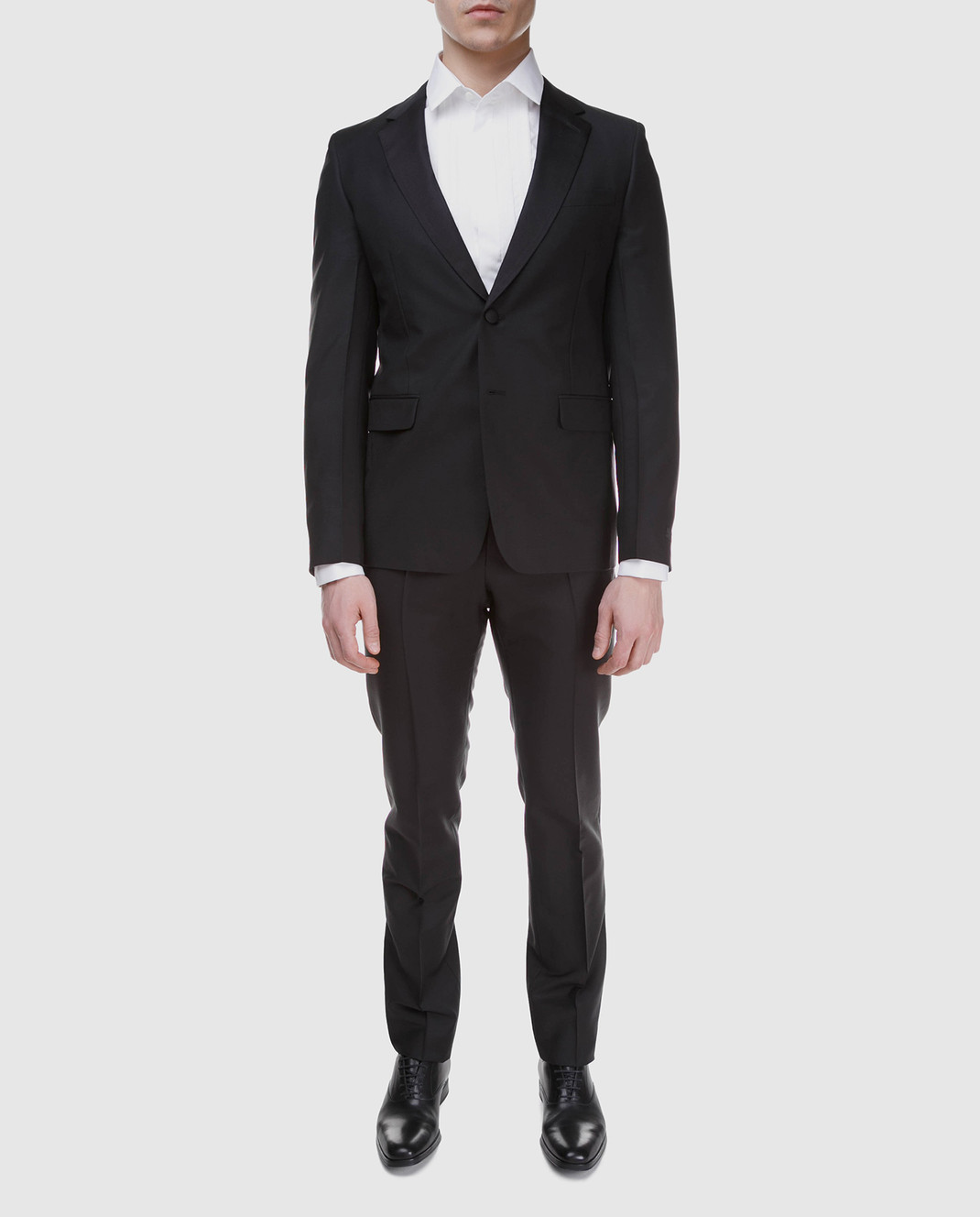 Prada Черный костюм из мохера и шерсти UAF4201KNB изображение 2
